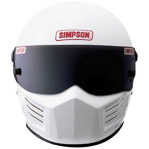 Simpson Racing Helmets >> Kartingwarehouse Com Simpson The Bandit Sa2015 Racing Helmet