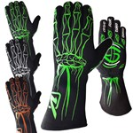 Velocita - Skeleton SFI-5 Auto Racing Gloves
